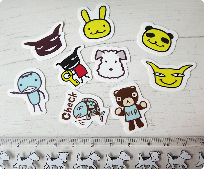 Aranzi Mini Sticker 5-piece Set