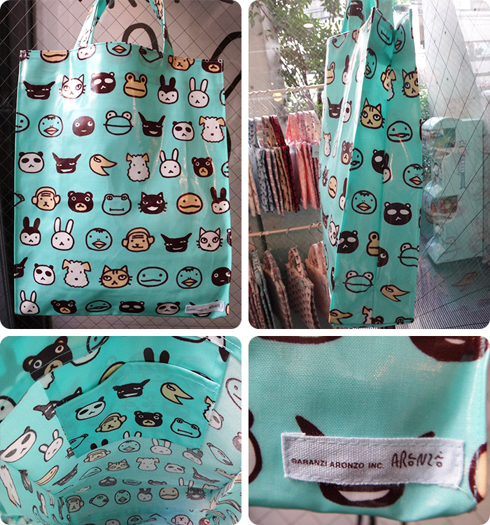 PVC-Coated Tote Bag