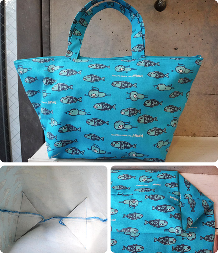 Zip-Top Canvas Tote